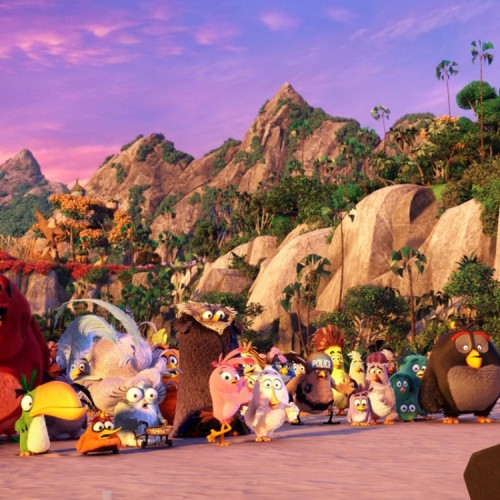 Angry Birds movie adapts the game in a well-created universe