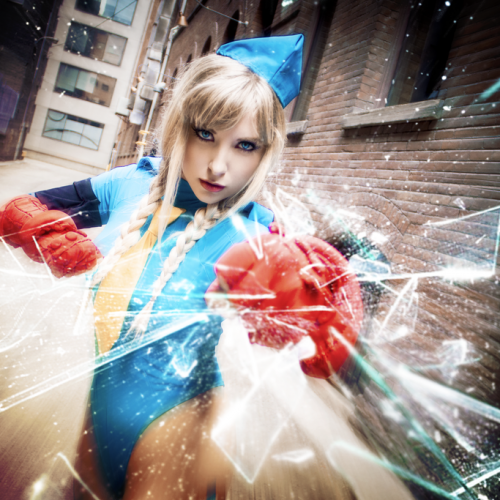 Let's get hyped for Street Fighter V with cosplay