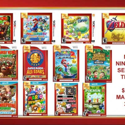 New Nintendo Select titles coming for Wii and 3DS