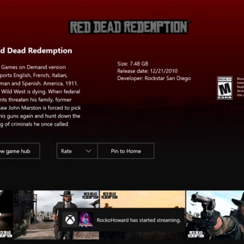 Red Dead Redemption gets leaked early on Xbox One