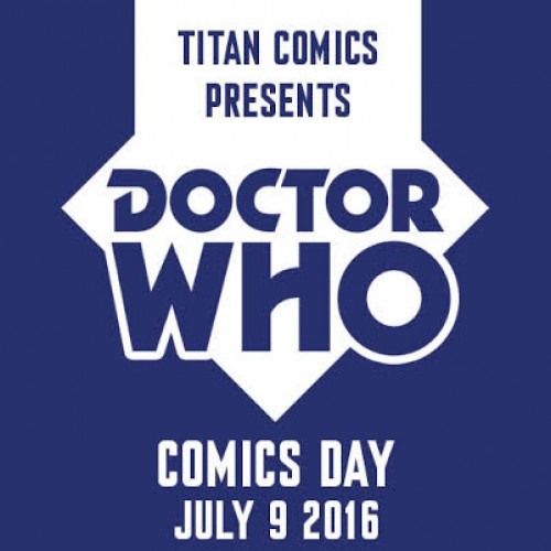 Titan Comics announces date for Doctor Who Comics Day 2016