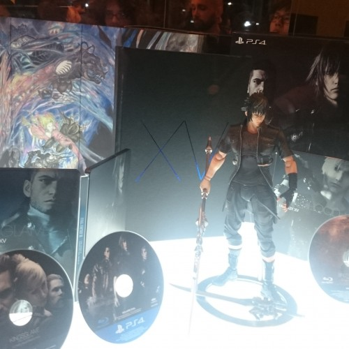 Final Fantasy XV Deluxe and Collector's Edition revealed