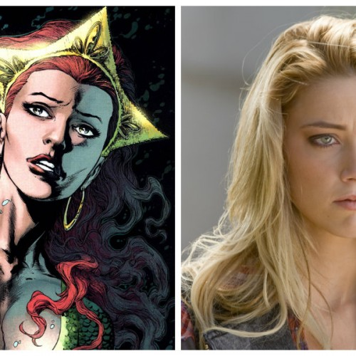 Amber Heard confirms 'Royal' role in upcoming DC Universe