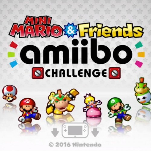 Mini Mario & Friends amiibo Challenge, a new game for your amiibo