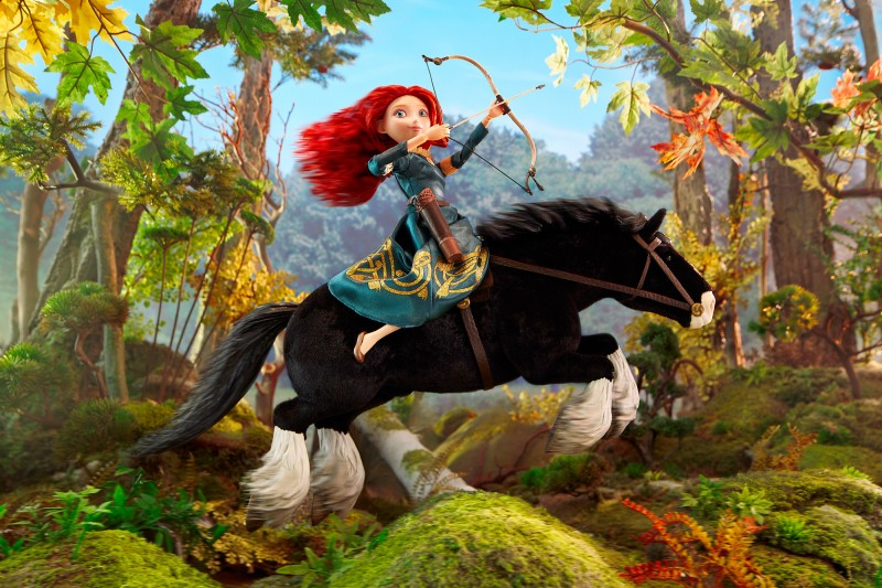 brave Princess_Merida_Wide_8_Bit