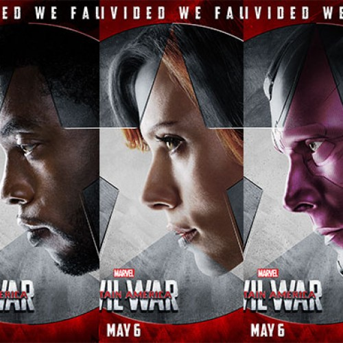 Team Iron Man gets character posters for 'Captain America: Civil War'