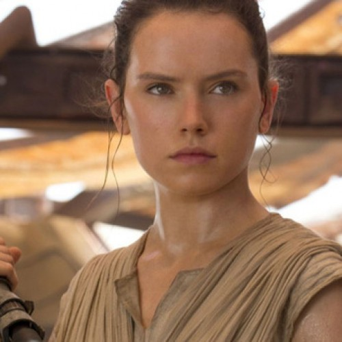 Daisy Ridley practices Jedi skills for Star Wars: Episode VIII