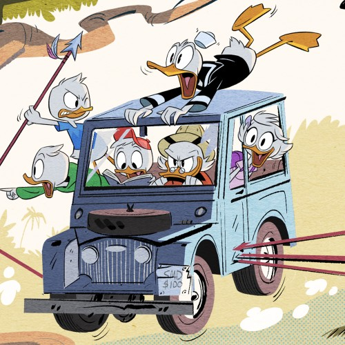 First look at new Ducktales series coming to Disney XD