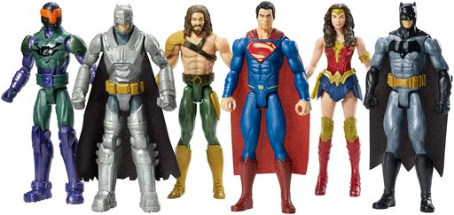 DC Comics Mattel Batman V Superman Action Figures Dawn of Justice Super Heroes