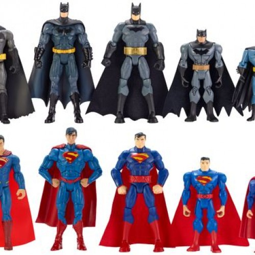 Mattel's Batman v Superman toys roundup