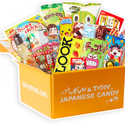 Unboxing TokyoTreat, delicious candies from Tokyo (video)