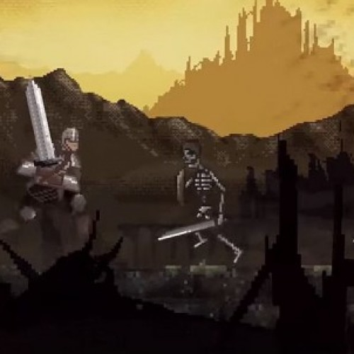Bandai Namco and GameStop release 16-bit Dark Souls game, 'Slashy Souls'