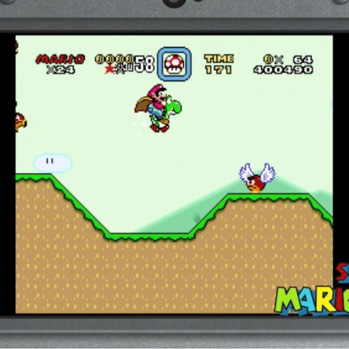 Super Nintendo games now playable on New Nintendo 3DS systems