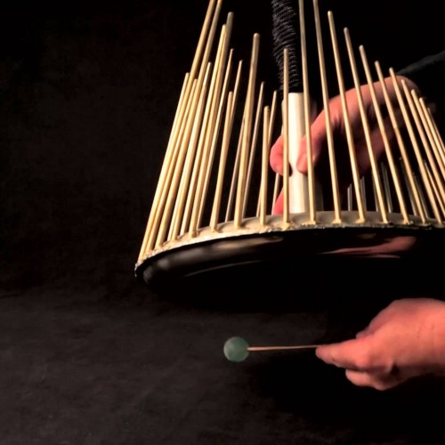Instrument used to create creepy sounds for horror movies