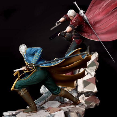 Check out these amazing Devil May Cry 3 dioramas from Kinetiquettes