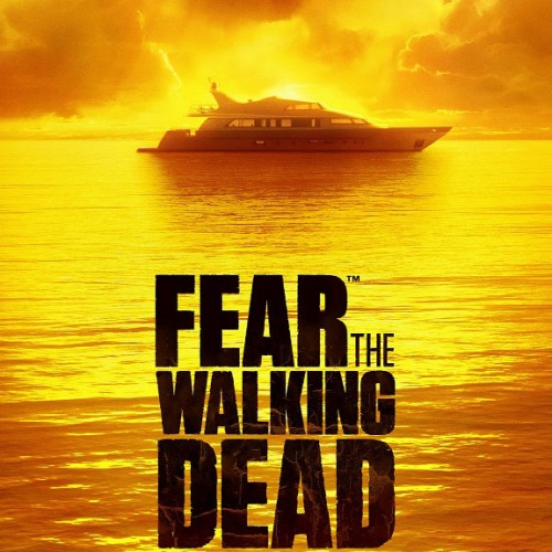 Not even a yacht is safe in Fear the Walking Dead key art