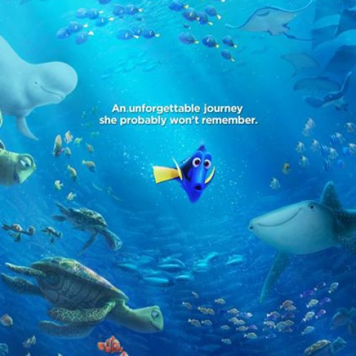 New poster for Pixar's Finding Dory