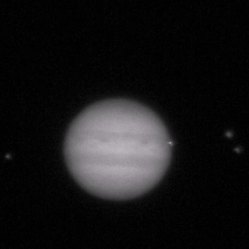 Collision with Jupiter