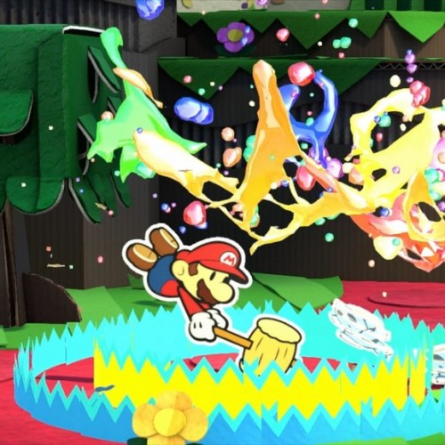 Paper Mario will arrive on Wii U with Color Splash