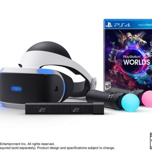 Pre-order the PlayStation VR Launch Bundle on March 22 for $499.99
