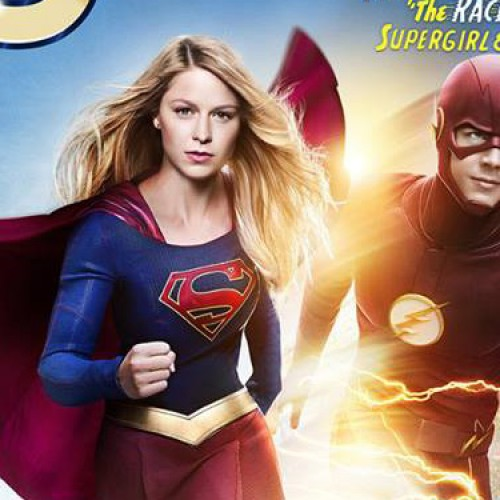 Supergirl and The Flash have some fun in crossover episode trailer