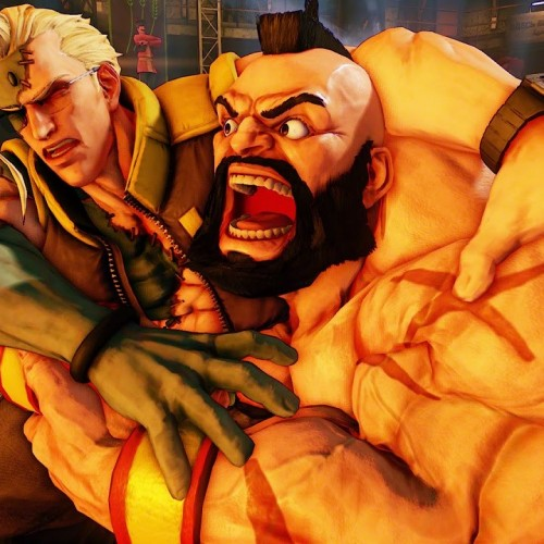 Zangief's Critical Art can be stored to make Red Cyclone more powerful