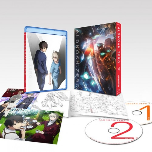 ALDNOAH.ZERO Vol. 4 (Blu-ray review)