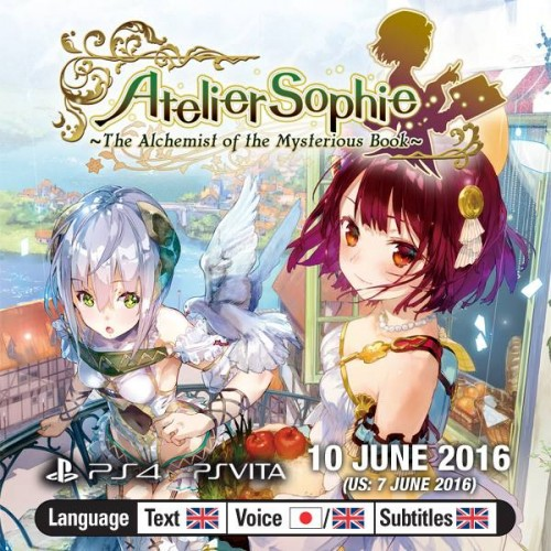 Atelier Sophie: The Alchemist of the Mysterious Book coming June 7