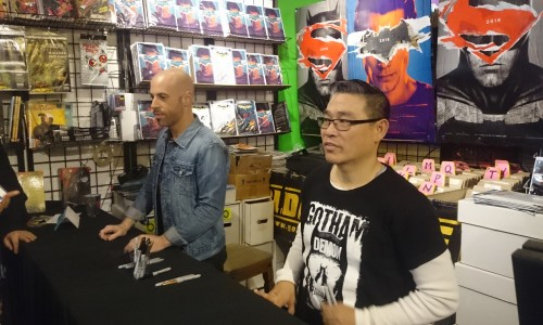 Singer Chris Daughtry on his Batman #50 variant cover and being a comic book fan