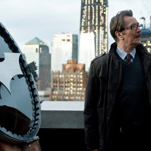 Gary Oldman gives his take on J.K. Simmons as Commissioner Gordon