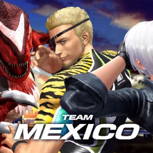 New King of Fighters XIV team trailer introduces Team Mexico