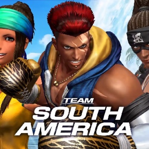 New King of Fighters XIV trailers introduce Team South America, Villain and Official Invite