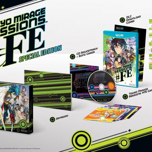 Tokyo Mirage Sessions #FE Special Edition announced for North America and Europe