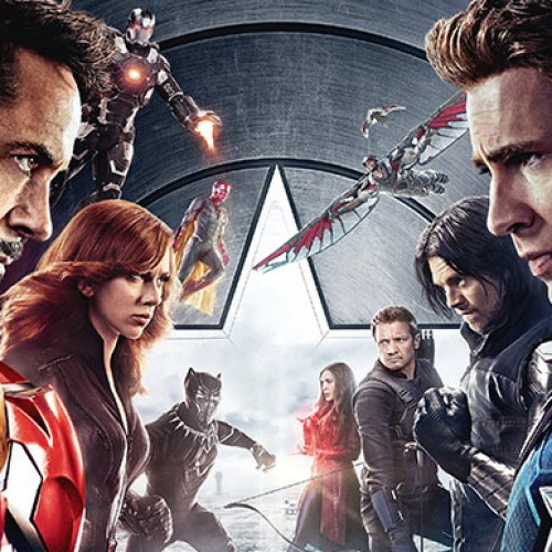 Check out the 'Captain America: Civil War' IMAX posters that AMC will be giving out