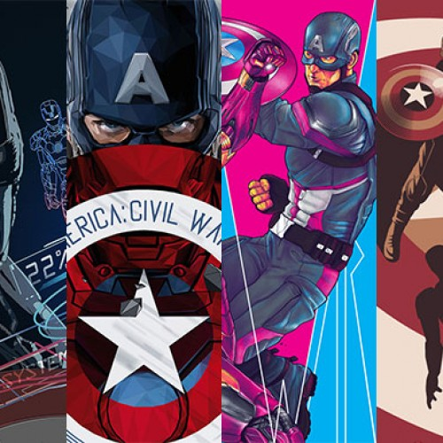 Poster Posse's amazing 'Captain America: Civil War' tribute artwork revealed