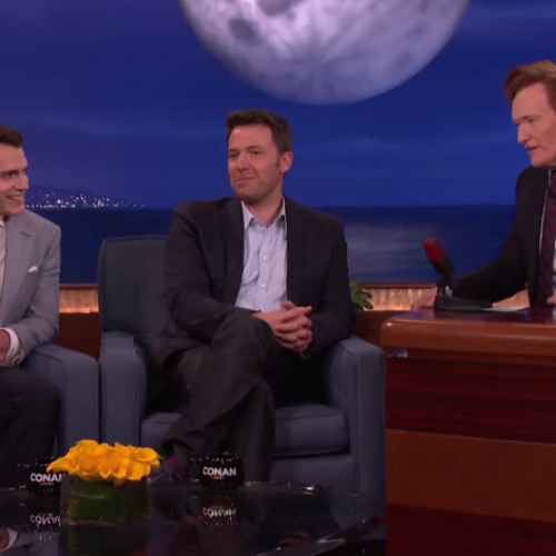 Conan welcomes the cast & crew of Batman V Superman: Dawn of Justice