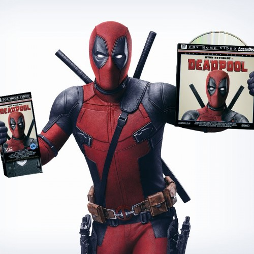 Ryan Reynolds unveils Deadpool for Blu-ray, VHS and LaserDisc