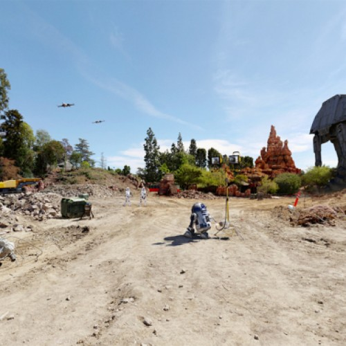 Disneyland teases Star Wars-themed land with new 360 photo
