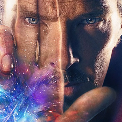 Marvel releases another poster for 'Doctor Strange' with more of Cumberbatch's front side