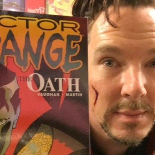 Benedict Cumberbatch dresses as Doctor Strange and visits comic shop