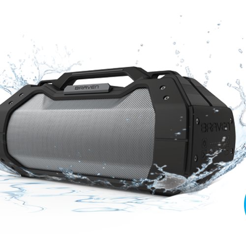 The new Braven BRV-XXL rugged boombox style speaker looks awesome and nostalgic