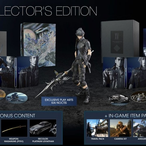 More Final Fantasy XV Ultimate Collector's Editions will be available