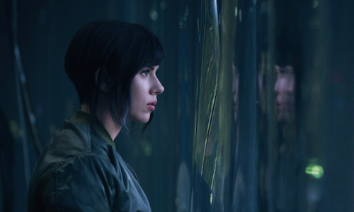Fans outraged over Ghost in the Shell's Scarlett Johansson photo, plus tests to make her look more Asian?
