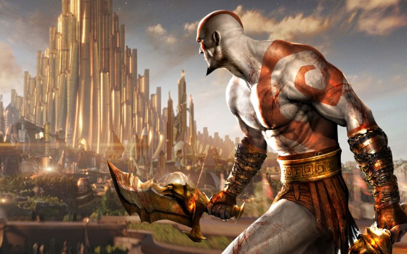 god of war kratos norse thor