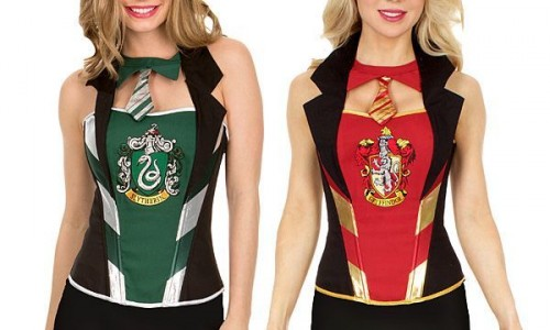 Look like a sexy witch with Harry Potter corsets