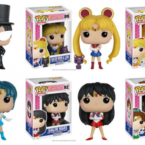 The Sailor Scouts are coming to Funko!
