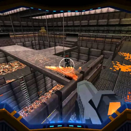 New Strafe gameplay footage, plus Wolfenstein 3D-esque minigame
