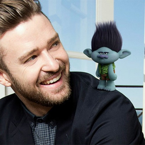 Justin Timberlake releases 'Can't Stop The Feeling!' from DreamWorks Animation's 'Trolls'
