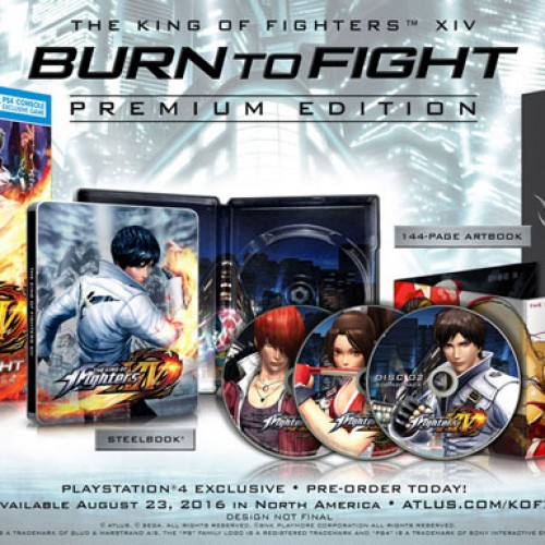King of Fighters XIV Premium Edition announced