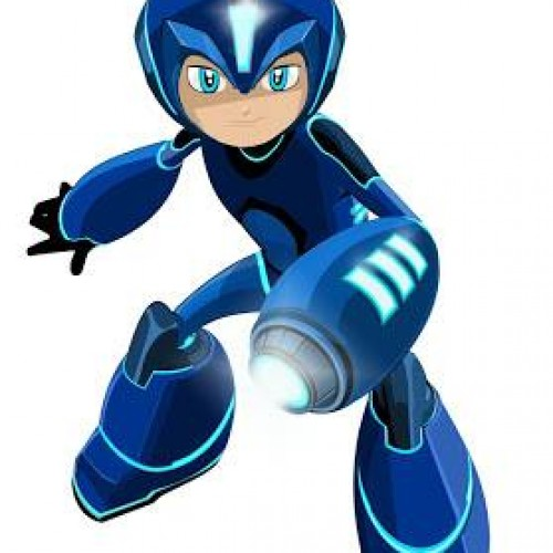 New Mega Man design for the upcoming cartoon is surprisingly odd